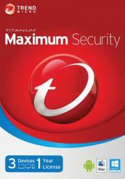 Trend Micro Maximum Security 2016 (3 lietotāji-1 gads)