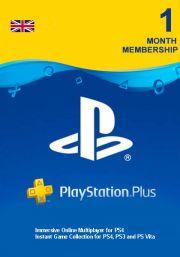 UK PSN Plus 1 Mēnešu Abonements