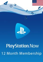 USA PlayStation Now 12 Mēneša Abonements