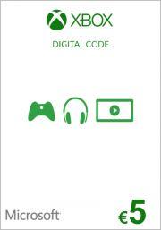 EU Xbox 5 Euro Dāvanu Karte (Xbox One & 360)