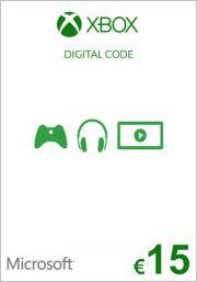 EU Xbox 15 Euro Dāvanu Karte