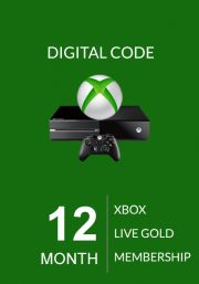 Xbox Live Gold 12 Mēnešu Abonements (Xbox One & 360)
