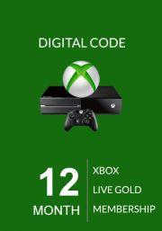 Xbox Live Gold 12 Mēnešu Abonements (Global)