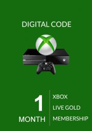 Xbox Live Gold 1 Mēneša Abonements (Xbox One & 360)