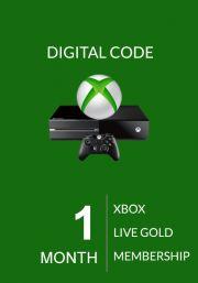 Xbox Live Gold 1 Mēneša Abonements (Xbox One & 360)