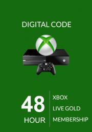 Xbox Live Gold 48 Stundu Abonements (Global)