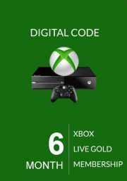 Xbox Live Gold 6 Mēnešu Abonements (Global)
