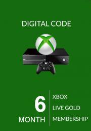 Xbox Live Gold 6 Mēnešu Abonements (Global)