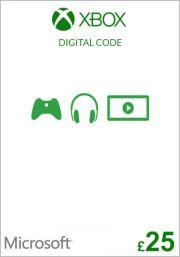 UK Xbox 25 GBP Dāvanu Karte (Xbox One & 360)