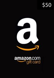 USA Amazon $50 Dāvanu Karte
