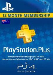 Austrālijas PSN Plus 12 Mēnešu Abonements
