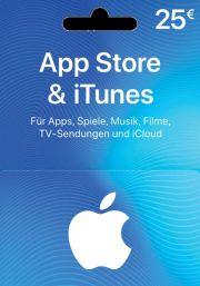 iTunes Vācijas 25€ Dāvanu Karte