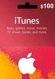 iTunes USA 100 USD Dāvanu Karte