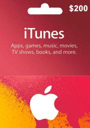 iTunes USA 200 USD Dāvanu Karte