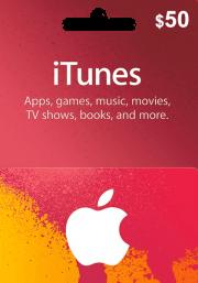 iTunes USA 50 USD Dāvanu Karte