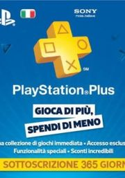 Itālijas PSN Plus 12 Mēnešu Abonements