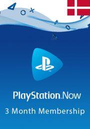 Denmark PlayStation Now 3 Mēneša Abonements