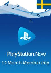 Sweden PlayStation Now 12 Mēneša Abonements