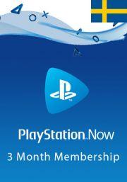 Sweden PlayStation Now 3 Mēneša Abonements