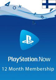 Somijas PlayStation Now 12 Mēnešu Abonements