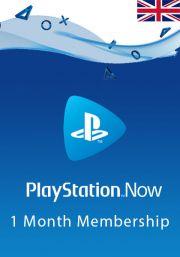 UK PlayStation Now 1 Mēneša Abonements