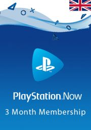 UK PlayStation Now 3 Mēnešu Abonements