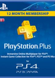 Dānijas PSN Plus 12 Mēnešu Abonements
