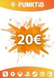 Punktid 20€ Dāvanu Karte