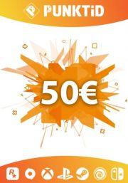 Punktid 50€ Dāvanu Karte