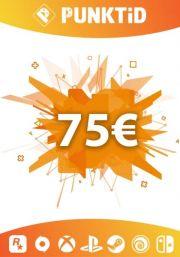 Punktid 75€ Dāvanu Karte