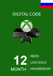 RUS Xbox Live Gold 12 Mēnešu Abonements (Xbox One & 360)